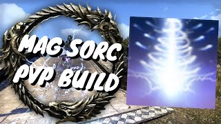 ESO - BEST MAG SORC BUILD - DRAGONHOLD