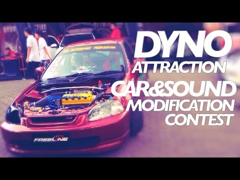 Dyno Attraction Contest Djarum Black Malang