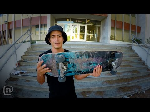 How To Set Up The Perfect Board For Filming Skateboarding On NKA