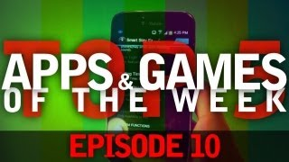EP: 10 - Top 5 Android Apps and Games! Also a Live Wallpaper!