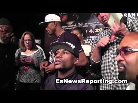 Mayweather On 50 Cent Coming To His Fight