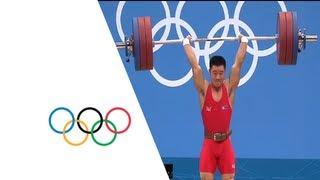 Un Guk Kim (DPR) Breaks Weightlifting World Record - London 2012 Olympics