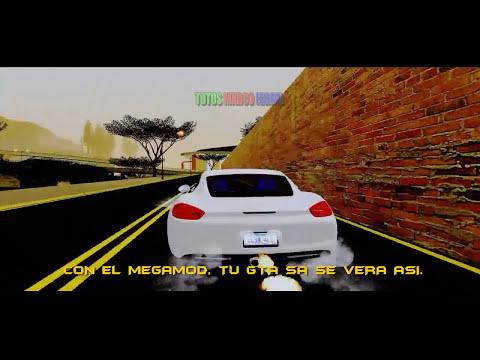 MEGAMOD PARA GTA SAN ANDREAS GRAFICOS, TEXTURAS, SONIDOS, ARMAS Y AUTOS HD