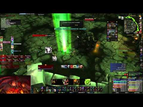 [World of Warcraft] Hellfire Citadel Druid Tank LIVE : Heroic Farm : Archimonde