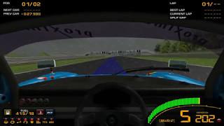 [Game][Racing] GTR2 Driving School Track Work Techniques 1 Basics - 2 Braking - Level 5 Observe