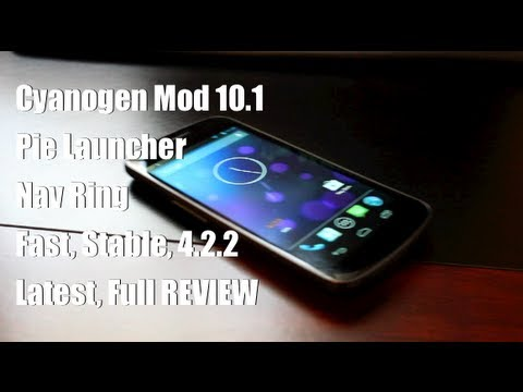 Cyanogne Mod 10.1 M3 PIE Control NAV Ring [FULL REVIEW] and Install