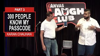 PART 3 STAND UP COMEDIAN- ILLUSIONIST LIVE at Canvas Laugh Club