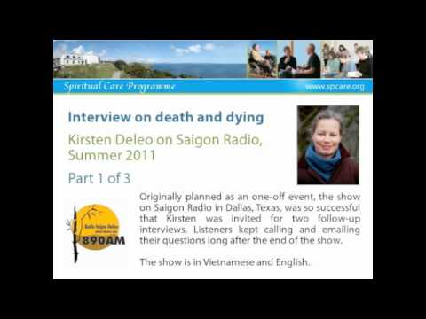 The Art of Dying - Kirsten Deleo on Saigon Radio 1 of 3