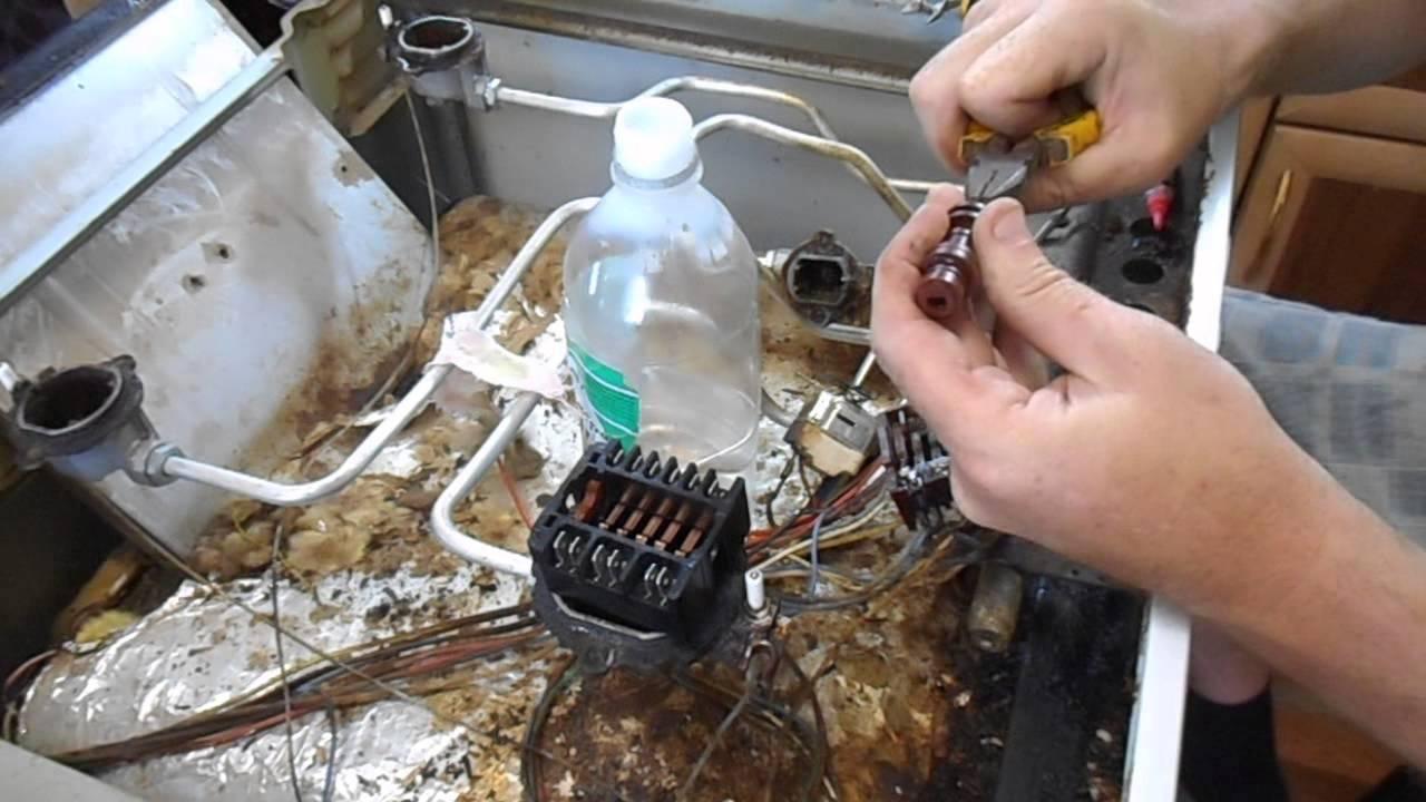 Своими руками ремонт газ.печки