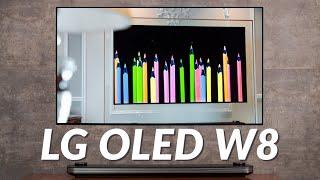 """Trên tay TV LG W8: 300 triệu 65"""", 650 triệu 77"""" không chỉ là cái TV đầy công nghệ"""