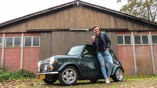EEN KLASSIEKE MINI COOPER ALS EERSTE AUTO?! *limited edition*