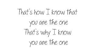 Kodaline - The One (Lyrics)