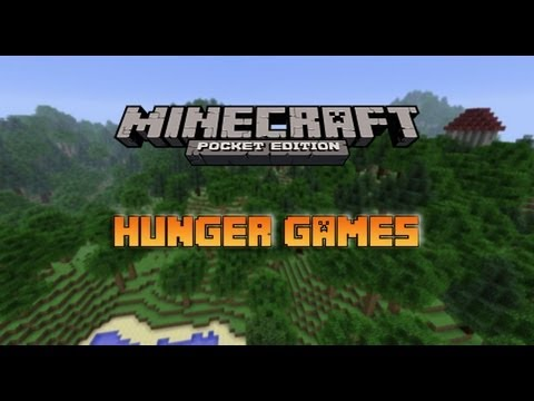 Minecraft Pocket Edition Hunger Games- Secret Room