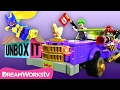 The Joker Notorious Lowrider with ThatCrazyFamily | LEGO Batman Movie Presents UNBOX IT