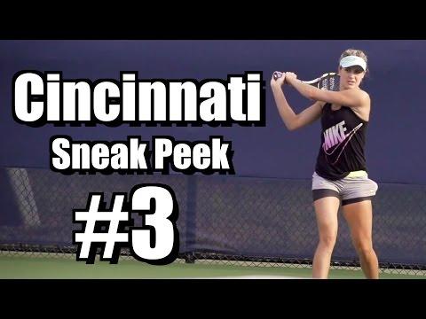 Cincinnati 2014 |  Sneak Peek #3 | Bouchard, Murray, Hantuchova, Paes - Forehand, Backhand, Serve