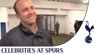 Celebrities at Spurs | England cricketer Jonathan Trott