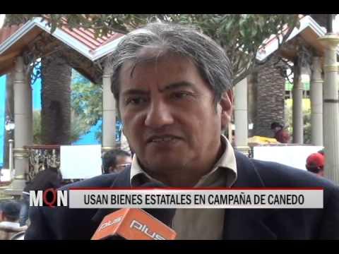 23/04/2015 18:34 USAN BIENES ESTATALES EN CAMPAÑA DE CANEDO