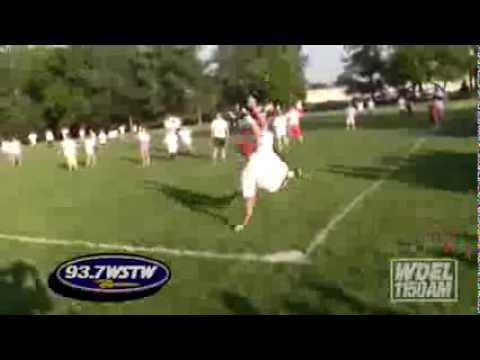 WSTW Kickball against The Pilot School - 5/19/2014
