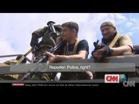 Kadyrov's gunmen identified themselves in Donetsk, 25.05.2014