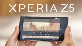 Sony Xperia Z5:  First Look & Impressions (2015)