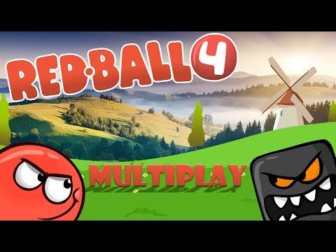 Red Ball 4 #1 ПРОХОЖДЕНИЕ Красный Шарик против Черного Квадрата Игра как Мультик МультиPlay