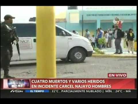 Cuatro muertos y varios heridos en incidente cárcel Najayo Hombres