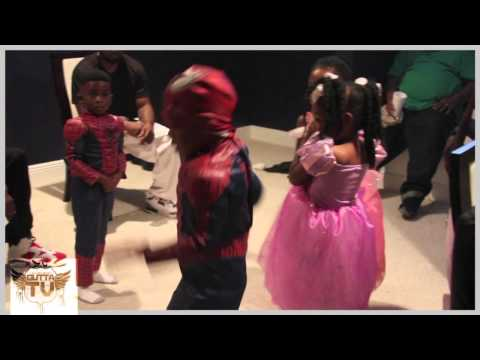 Lil Boosie In Studio With Eside Shawty,: Boosie Kids Dancing To Street Love Gutta Tv video