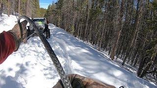 Colorado 4x4 Rescue and Recovery - Old Ballard stuck silverado - March 16th, 2019