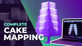 Cake Projection Mapping Tutorial (Using Free Software)