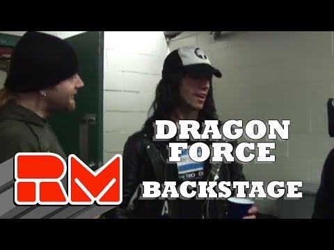 Dragon Force&Chimaira Backstage
