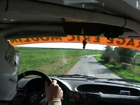 On-board Eric Moulin rallye de Sombreffe 2008