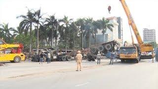 Tai nạn giao thông tại Hải Phòng, làm hai người chết