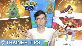 HOW DO LUCKY POKÉMON WORK? HIGHER IVs, OLD POKÉMON ODDS (Pokémon GO Update)