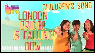 ♫♪ LONDON BRIDGE IS FALLING DOW ♫♪ children