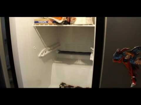 Diy How To Thaw Out Your Frozen Freezer Drain Plug Youtube