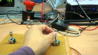 100W DC motor & 1.5kW BLDC motor test