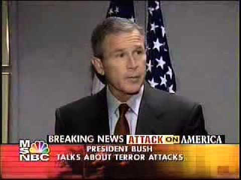 Chapter 11 H George W. Bush addressing country from BAF base