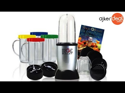 Magic Bullet Blender for  Kitchen in Bangladesh | 21 Pieces Electric Blender set for home