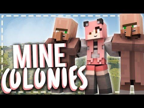 Minecraft Modded 1.10.2 Showcase | MineColonies | Mousie