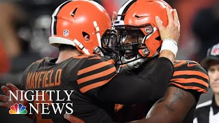 Cleveland Browns End Grueling 635-Day Losing Streak | NBC Nightly News