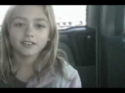 9 year-old girl freestyles about urethras - YouTube