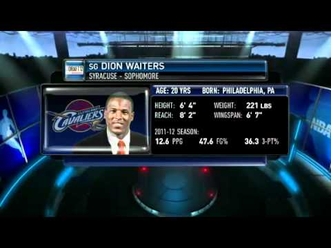 Draft 2012: #4- Dion Waiters, Cavaliers