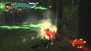 God of War 2 - Underground River Puzzle Skips (Speedrun Strategy BP)