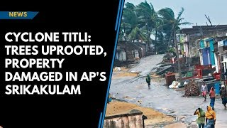 Cyclone Titli: Trees uprooted, property damaged in AP's Srikakulam