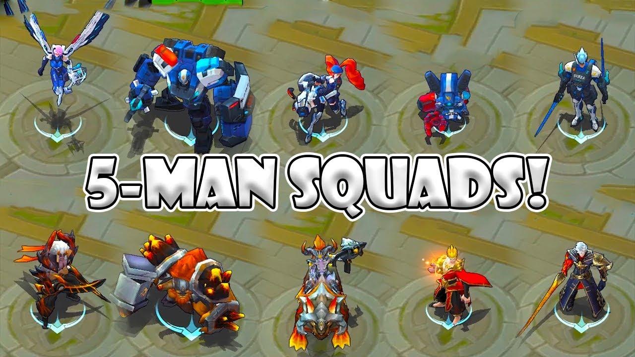 Mobile Legends 5 Man Squads