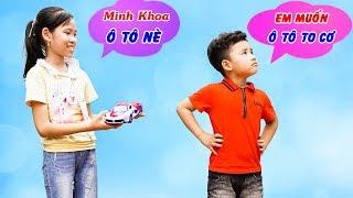 Cậu Bé Đua Đòi - Bài Học Cho Bé ♥ Min Min TV Minh Khoa