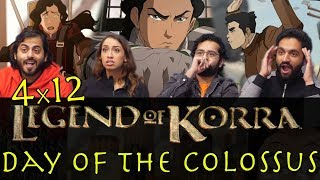 The Legend of Korra - 4x12 Day of the Colossus - Group Reaction