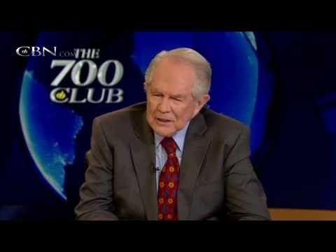 Pat Robertson Blames Liberals for Drug War and Overincarceration 2012