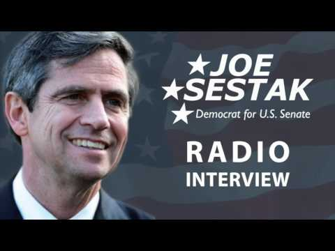 Admiral Joe Sestak Talks with KQV Radio in Pittsburgh About Iran