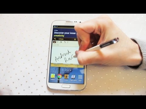 Samsung Galaxy Note 2 Review inc Camera. S-pen. Settings & Jelly Bean Androidizen